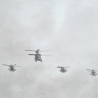 3 Apaches en 1 Chinook - 2004