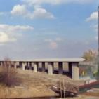 HSL in aanbouw, viaduct